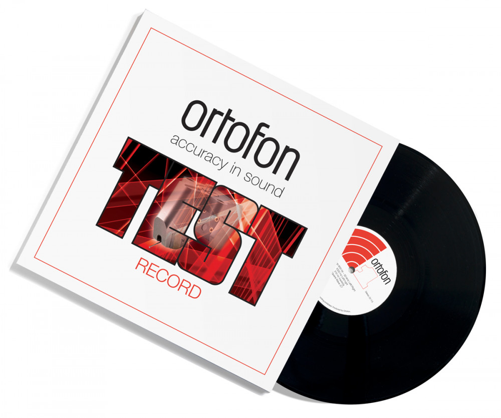 Ortofon Test record LP