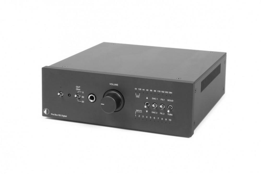 Pro-Ject Pre Box RS Digital svart