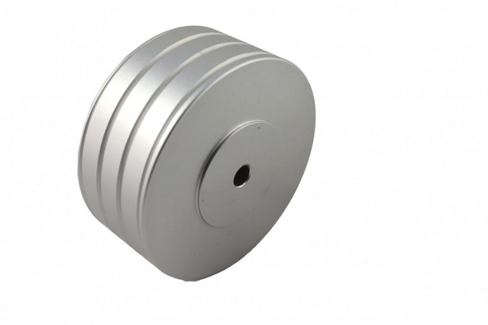 Ludic Audio Titran Record Stabilizer Silver