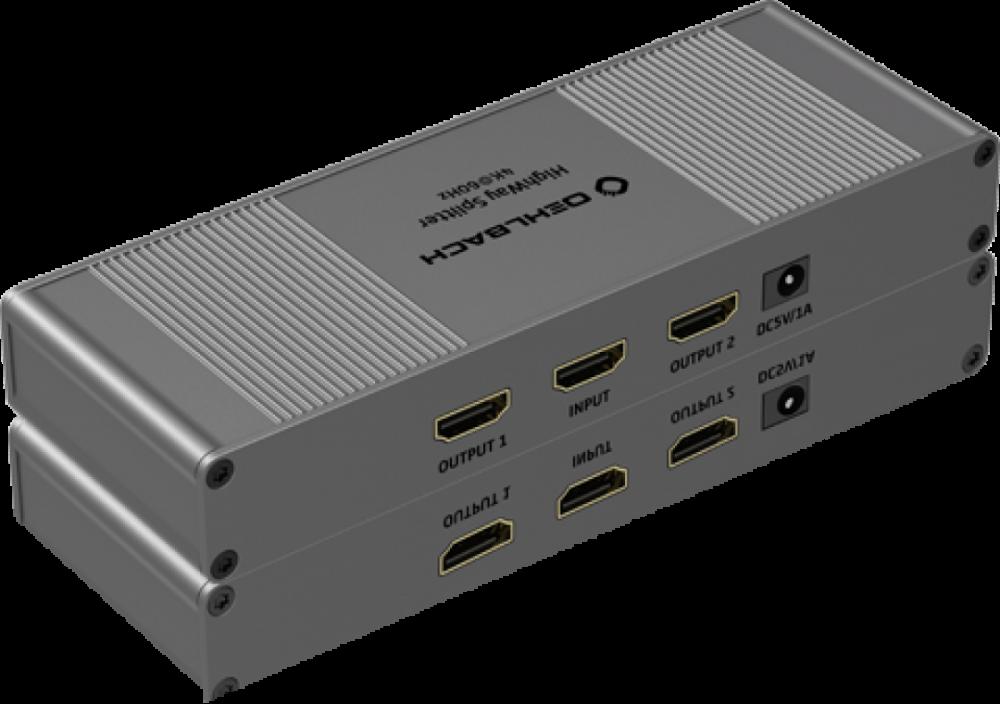 Oehlbach HDMI-Splitter 1:2 4K