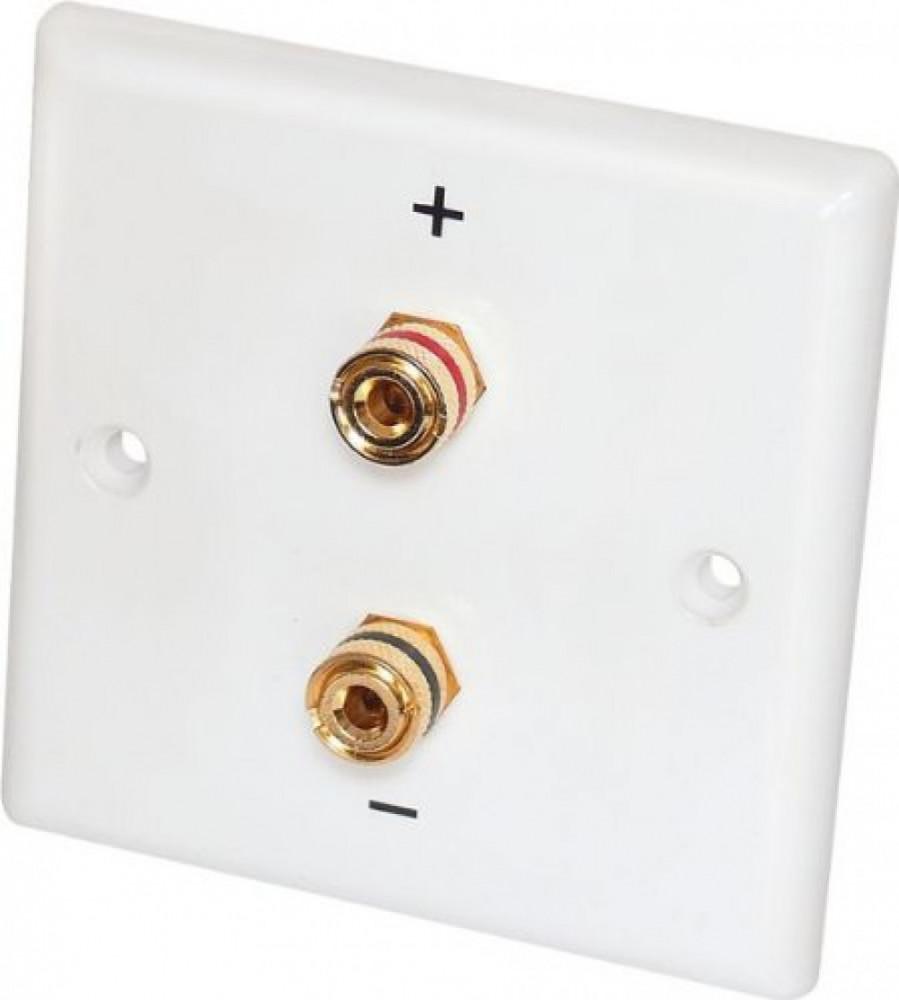 Dynavox Speaker-Wallplate Mono White