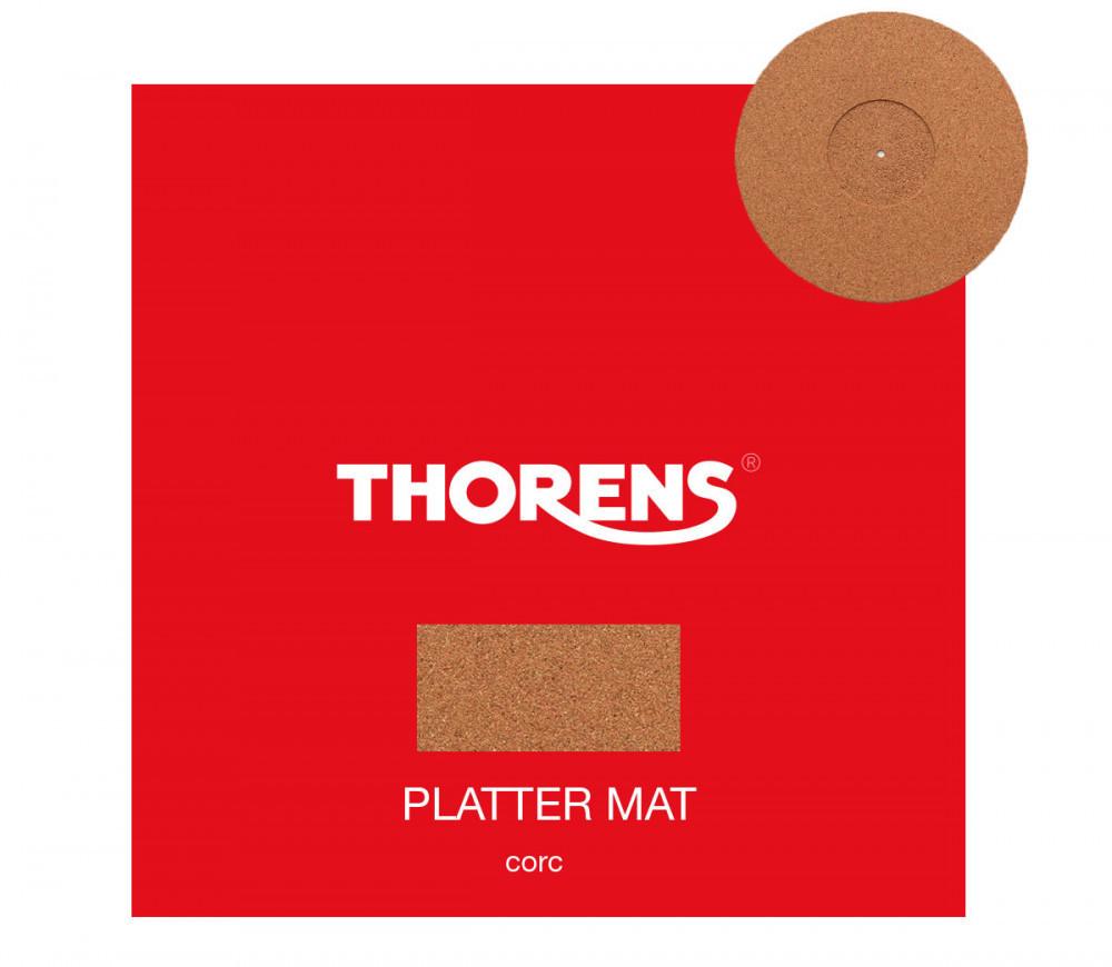 Thorens Platter Mat Cork - Kork skivmatta