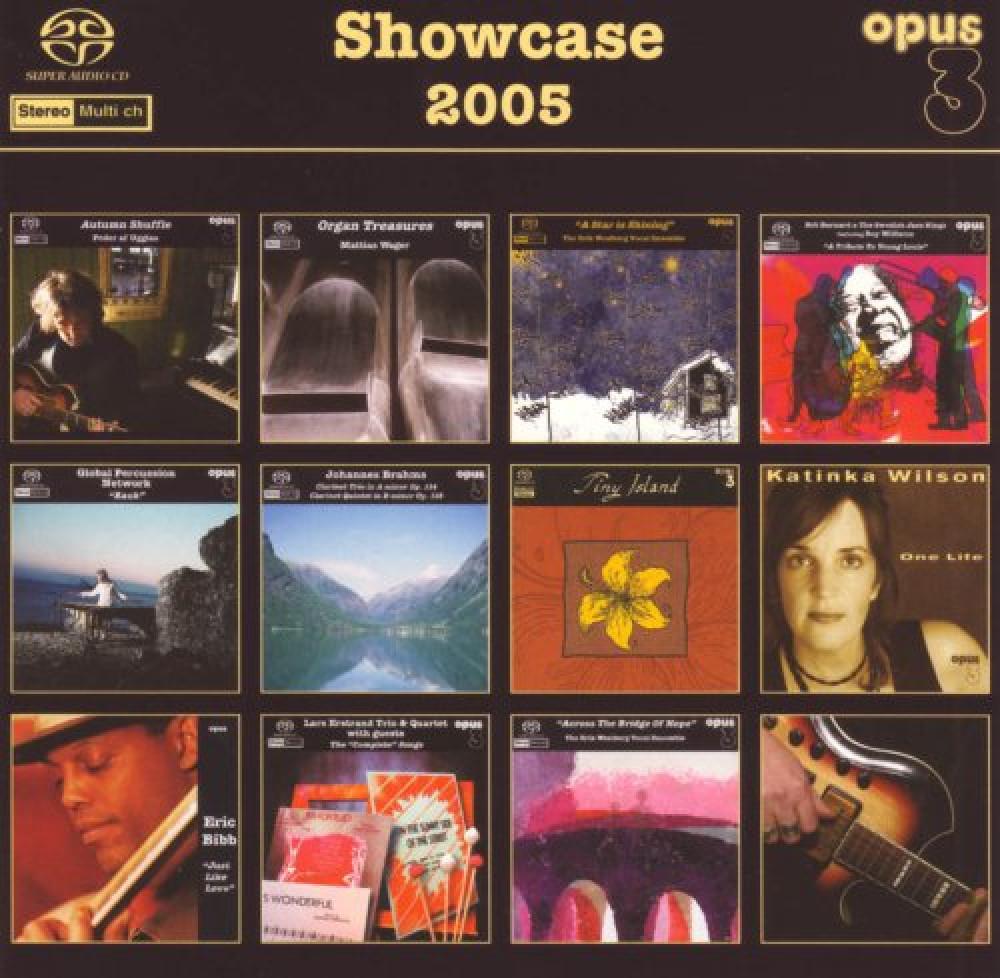 Övriga Opus3 Showcase 2005 SACD/CD