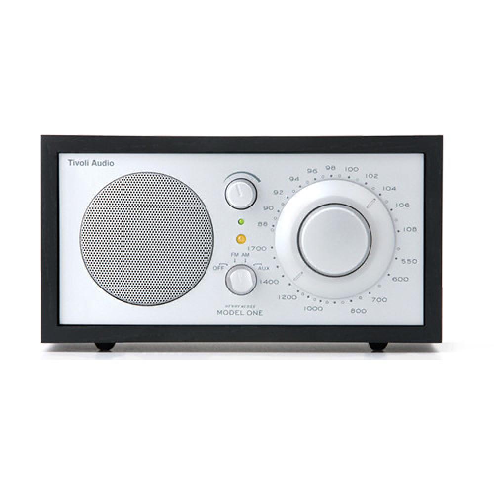 Tivoli Audio Model One Silver/svart