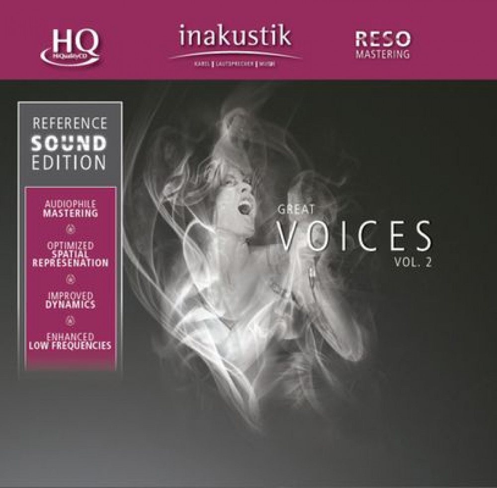 Inakustik Great Voices vol 2 CD