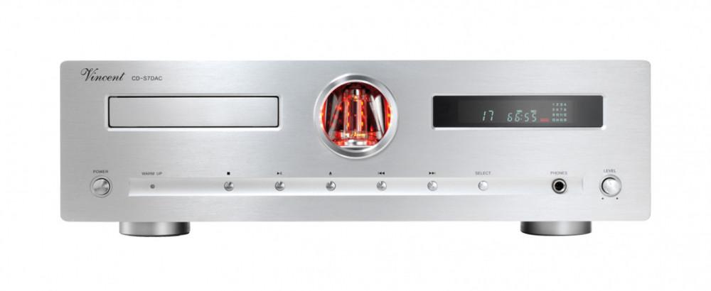 Vincent CD-S7 DAC CD-S7 DAC Silver (med inbyggd DAC och XLR-utgång)