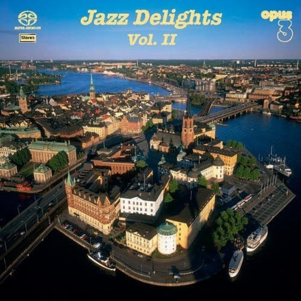 Övriga Opus3 Jazz Delights II SACD/CD