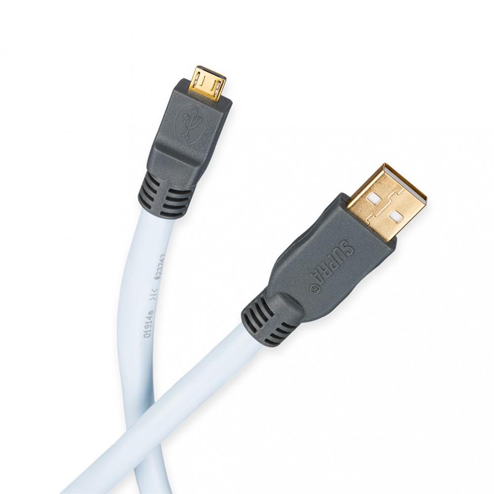 Supra USB 2.0 A/micro-B