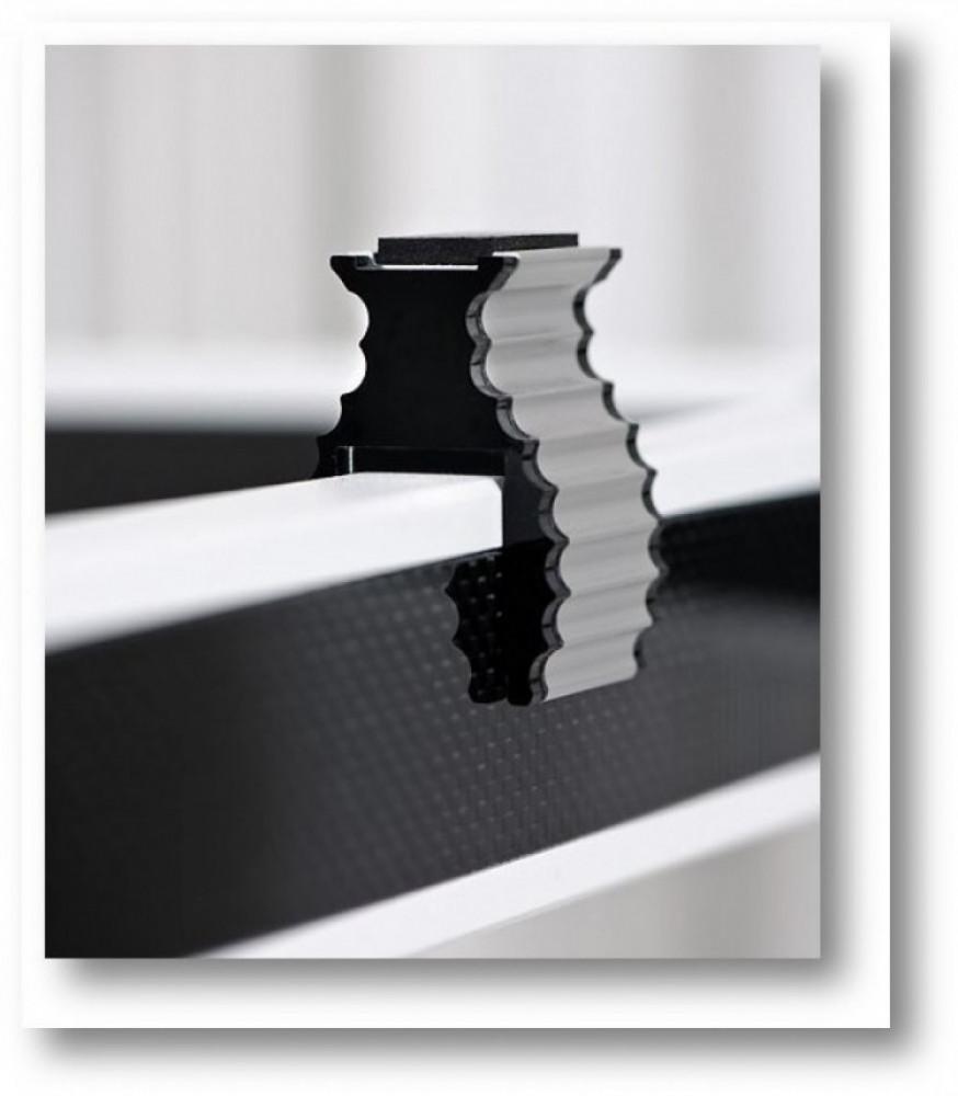 Solid Tech Rack Of Silence Apparatus Support 4-pack svart plexiglas