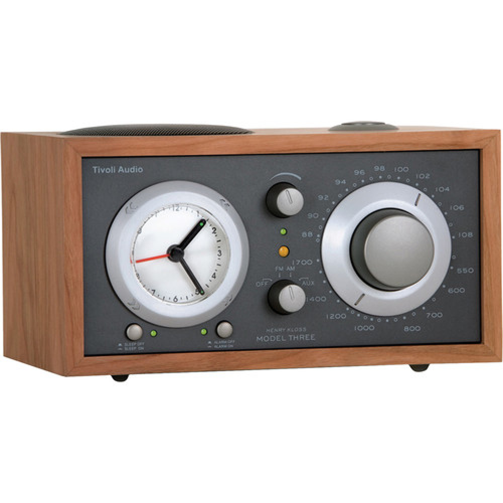 Tivoli Audio Model Three BT Körsbär / mörkgrå