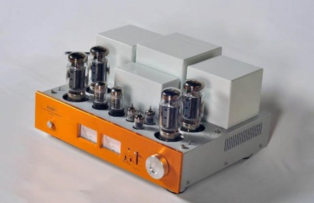 Line Magnetic Audio LM 501IA - KT120 Guld/Vit
