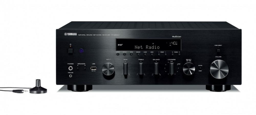 Yamaha MusicCast R-N803D Svart