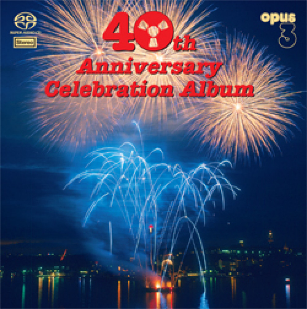 Övriga Opus 3 40th Anniversary Celebration Dubbel LP