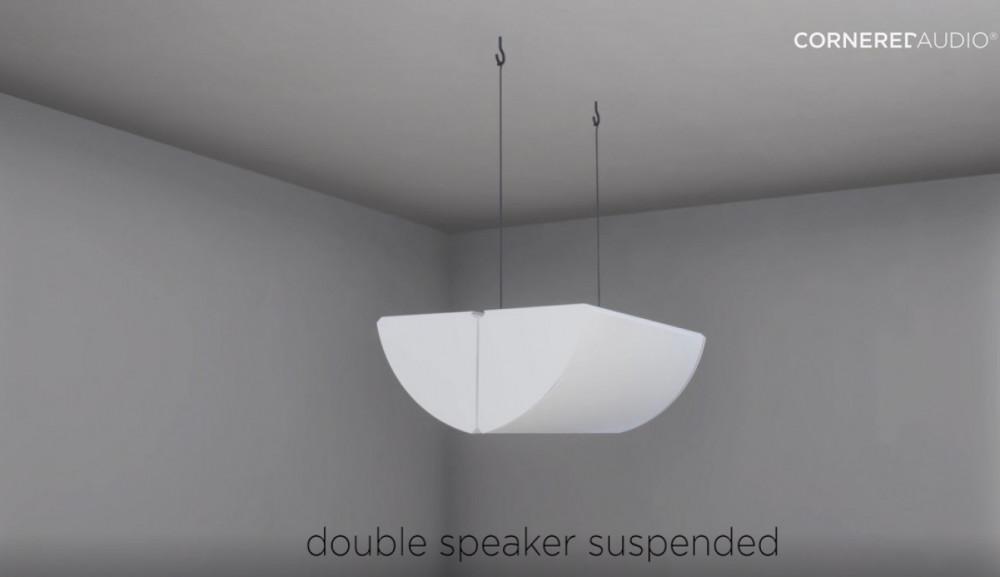 Cornered Audio Mount Dubbel fäste